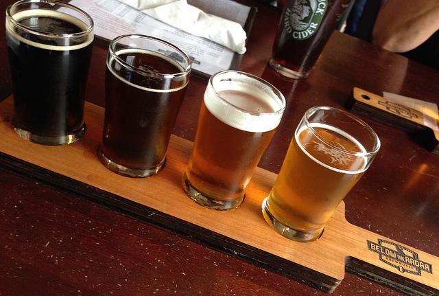 Beer Tasting in Birmingham, Alabama, USA