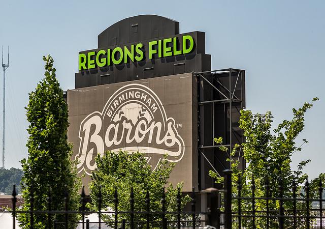 Regions Field, Birmingham, Alabama, USA