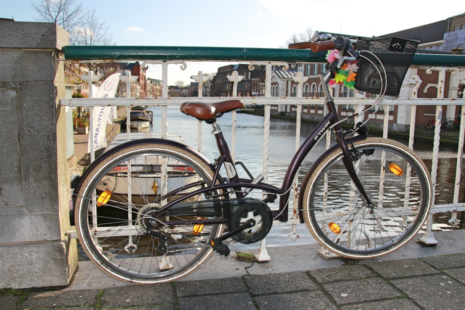 Bike in Leiden, The Netherlands