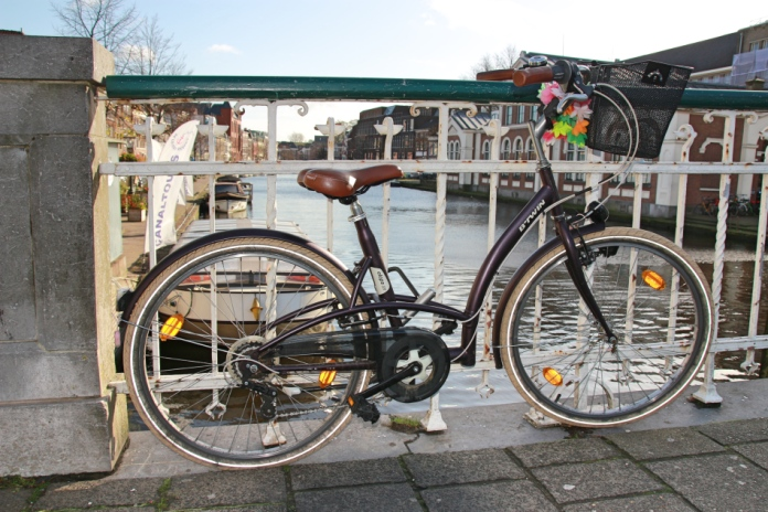 Bike in Leiden, The Netherlands