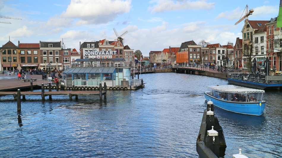 Boat Trip in Leiden, The Netherlands