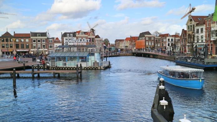 Boat Trip in Leiden, The Netherlands