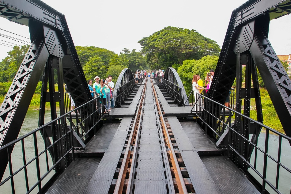 Bridge, Kanchanaburi, Thailand