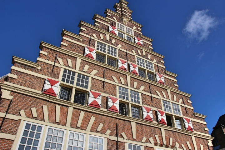 Cool architecture in Leiden, The Netherlands