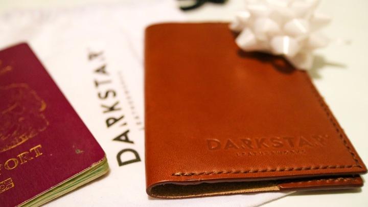 DarkStar Leatherworks Passport Cover
