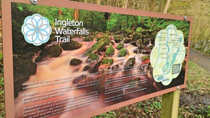 Ingleton Waterfalls Trail, Yorkshire