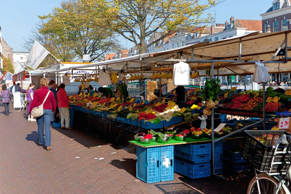 Leiden Market, The Netherlands
