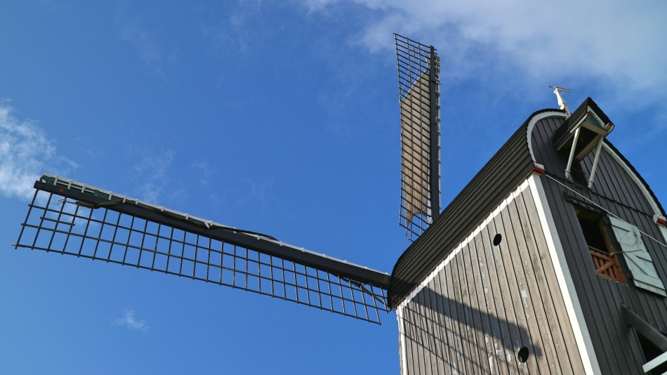 Molen De Put Blades, Leiden, The Netherlands
