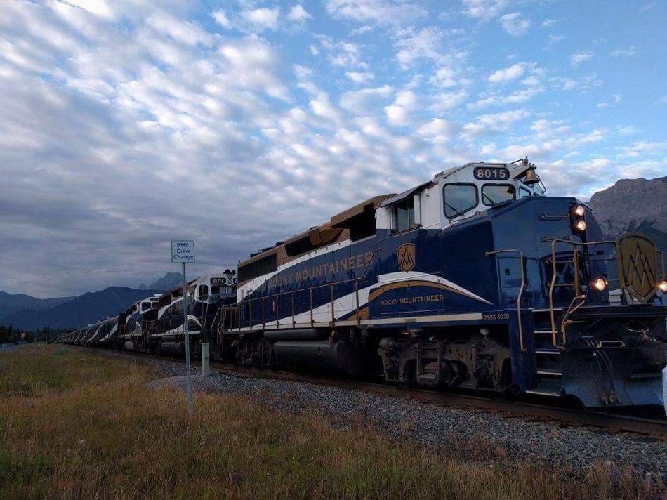 Rocky Mountaineer Train, Calgary, Canada