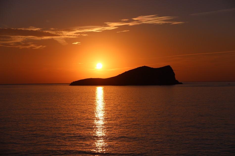 Sunset Ibiza, Spain