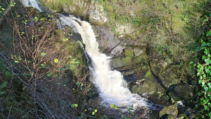 Waterfall at Ingleton Waterfall Trail, Yorkshire
