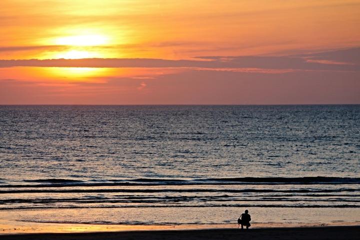 Beach Sunset - Beat The Holiday Blues