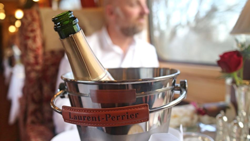 Bottle Of Champagne Northern Belle