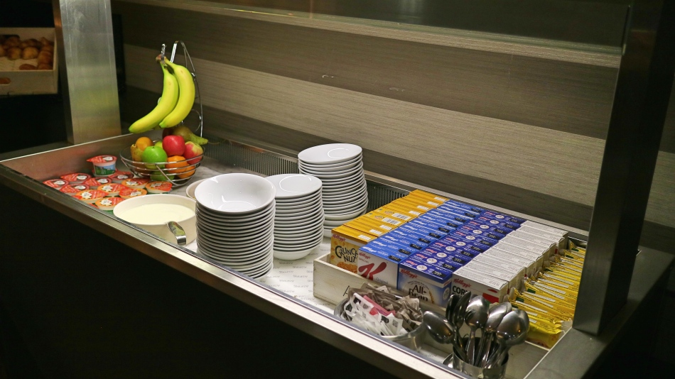 Fruit at Aspire Lounge, Manchester Airport T1