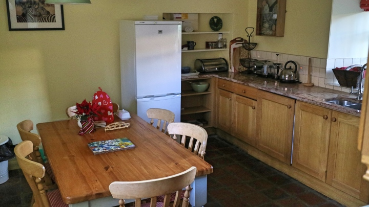 Kitchen at The Applestore at Noelle's Cottages, Pickering, England