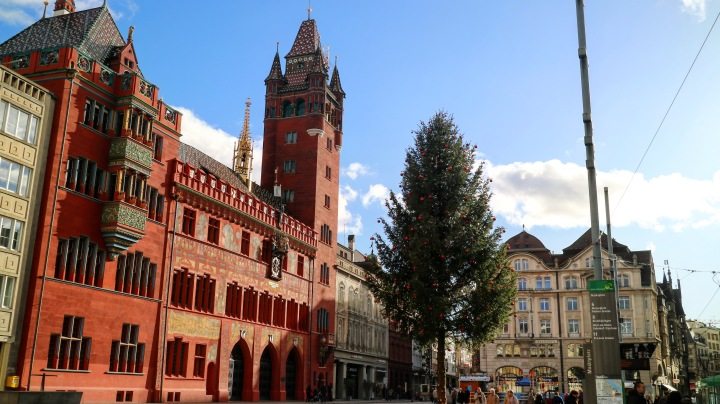 Town Hall, Basel, Switzerland