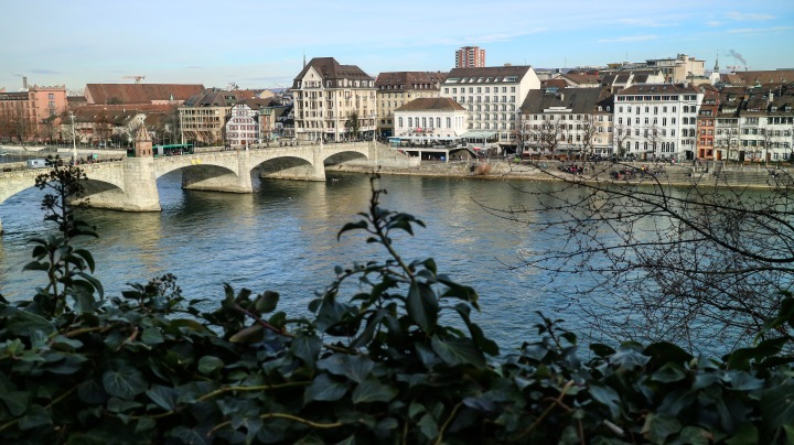 The Rhine, Basel, Switzerland