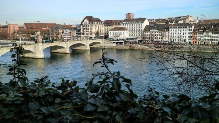 The Rhine, Basel, Switzerland