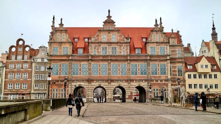 Gdansk, Poland Green Gate