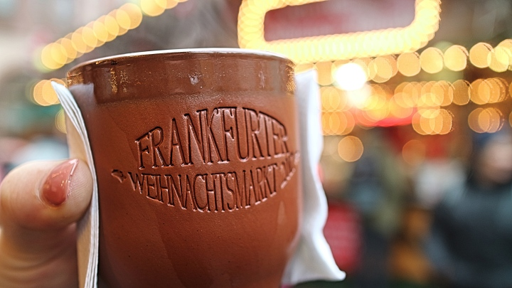 Mulled Wine at Frankfurt Christmas Market