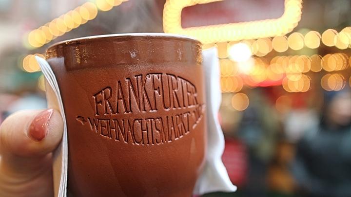 Mulled Wine at Frankfurt Christmas Market