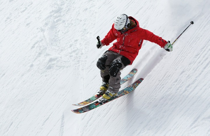 Freerider Skiing