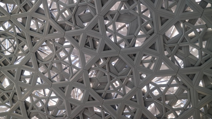 The Louvre Abu Dhabi Roof, UAE
