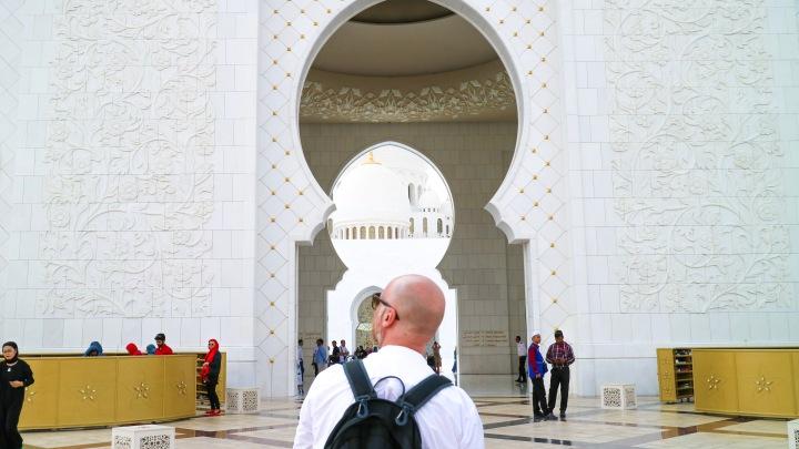 Mr ESLT at Sheikh Zayed Mosque, Abu Dhabi