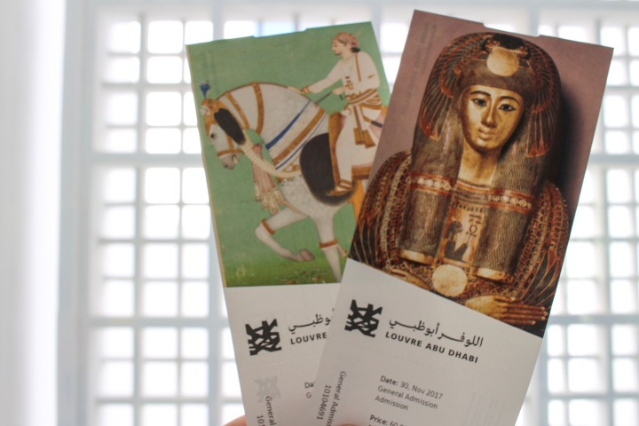 Tickets for The Louvre, Abu Dhabi, UAE