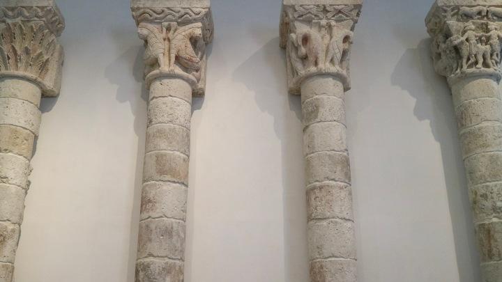 Pillars at The Louvre Abu Dhabi