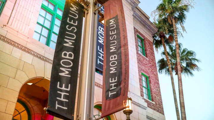 The Mob Museum Front, Las Vegas, USA