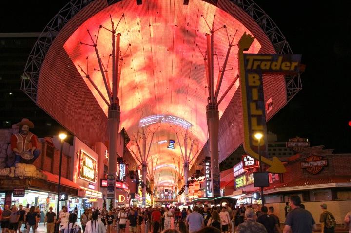 Freemont Street Zipline, Las Vegas, USA