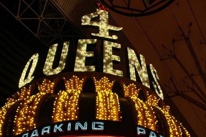 4 Queens, Freemont Street, Las Vegas