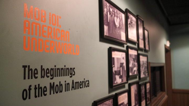 Inside the Mob Museum, Las Vegas, USA