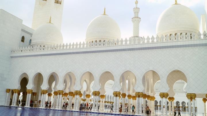 Inside Sheikh Zayed Mosque, Abu Dhabi