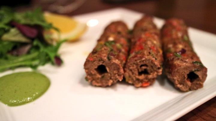 Lamb Kebab starter - Tapasya Hull