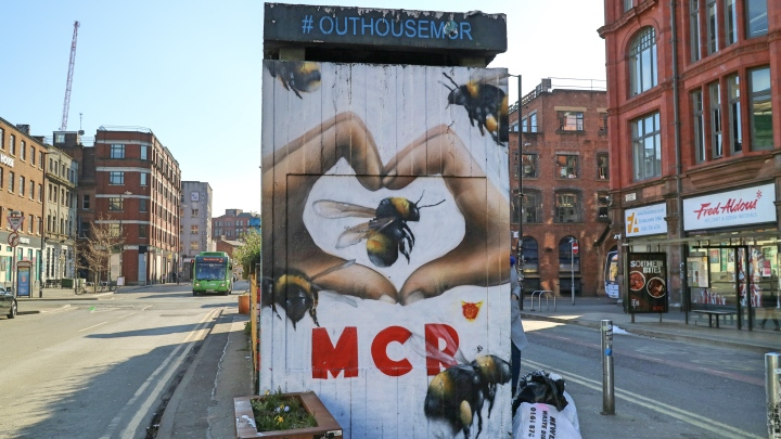 Manchester Street Art in The Northern Quarter